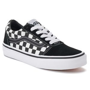 Kids Vans Ward Low Skate Shoes, 11t